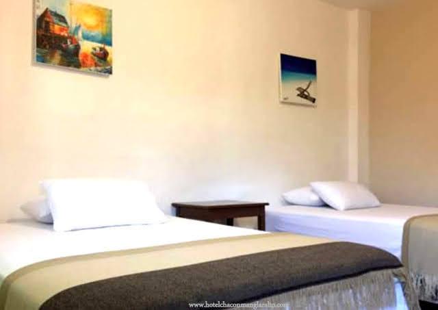 Habitacion Doble con Wifi Hotel Chacon Manglaralto Santa Elena Ecuador