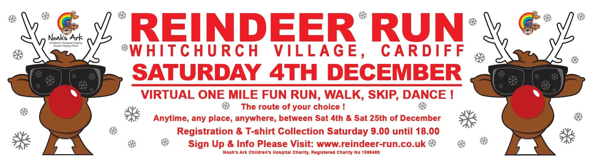 Whitchurch Reindeer Run 2021