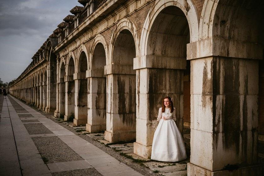 Precomunión en el Palacio de Aranjuez