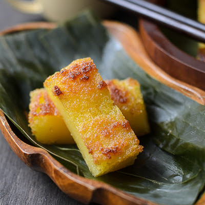 Resipi Kuih Bingka Ubi Kayu | Cassava Cake Recipe