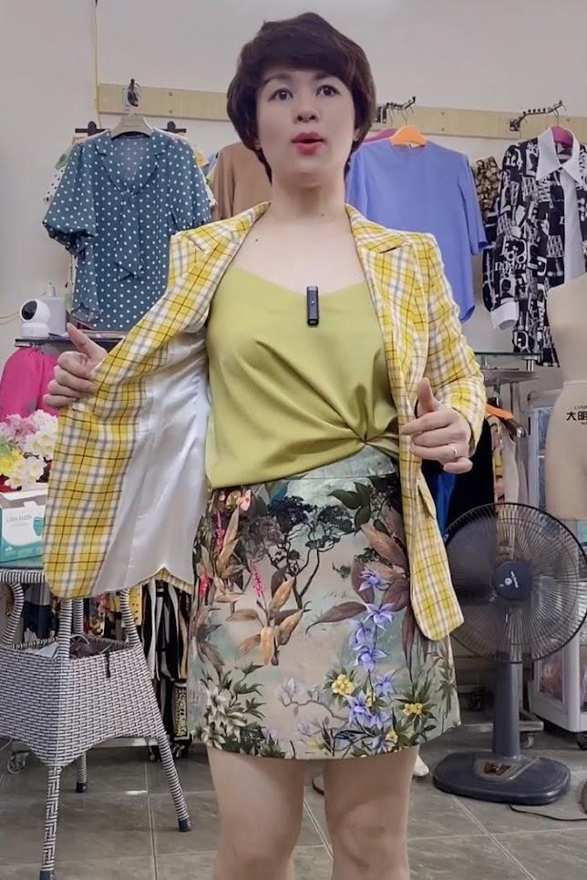 áo vest nữ công sở dáng eo phối đồ mặc đẹp thời trang thủy nam định