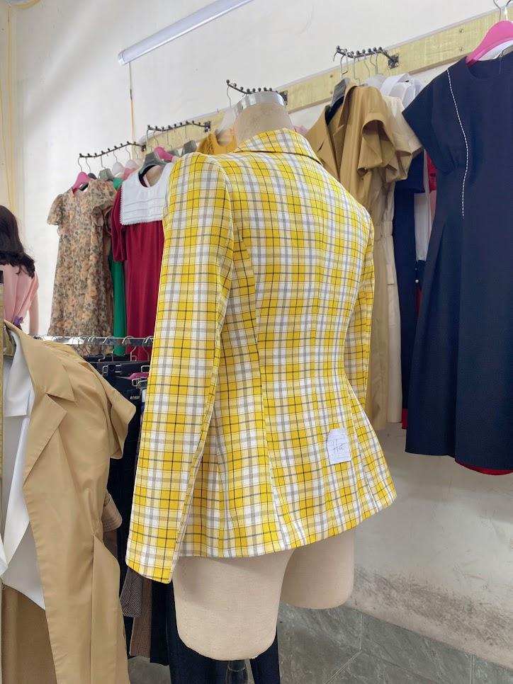 áo vest nữ công sở dáng eo phối đồ mặc đẹp thời trang thủy sài gòn