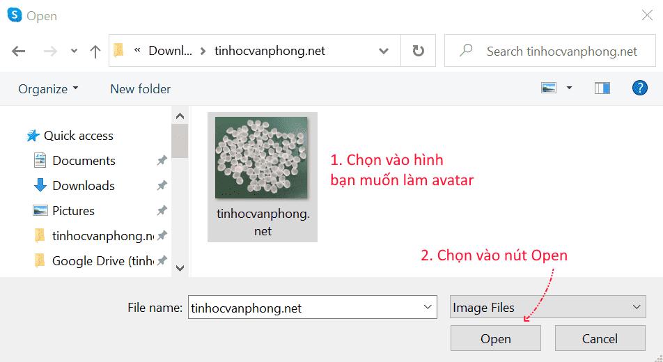 hướng dẫn thay đổi avatar skype