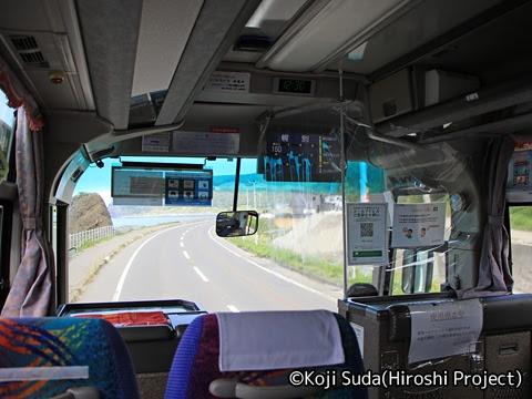 斜里バス「ウトロ羅臼線」 ・213 車窓_01