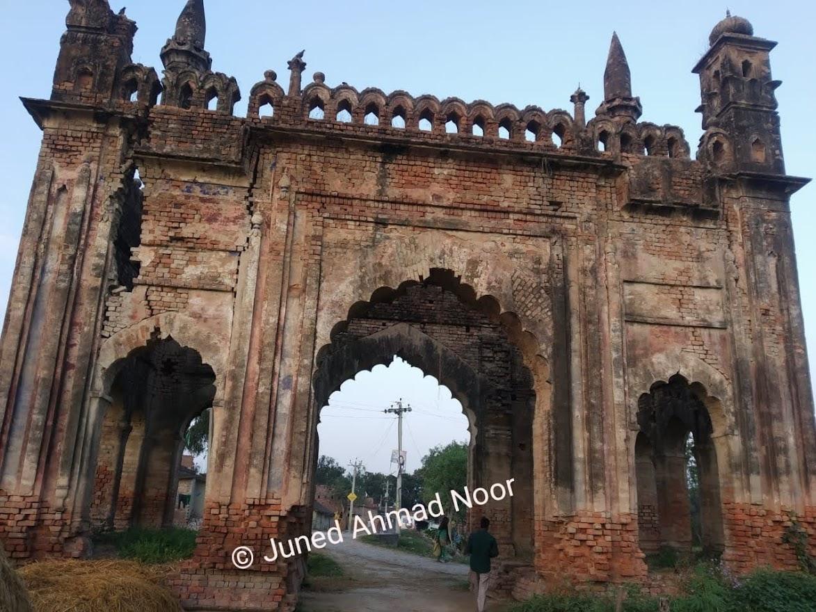 A old gate of tipraha Estate Baharich