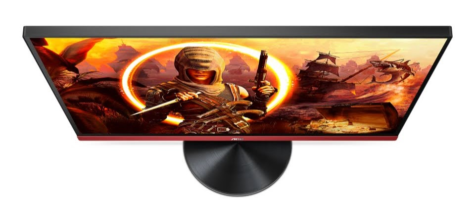 AOC Gaming Monitor 23.8 G2490VXA Top view