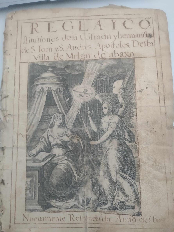 Libro de la Cofradía de San Juan y San Andrés de Melgar de Abajo