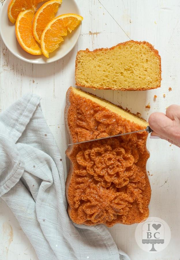 Loaf Cake de agua de azahar