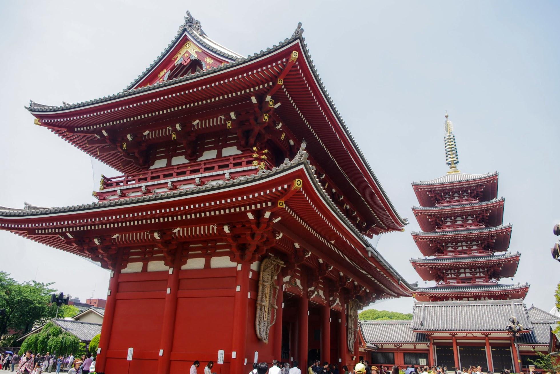 Qué ver en Tokio. Templo Sensō-ji