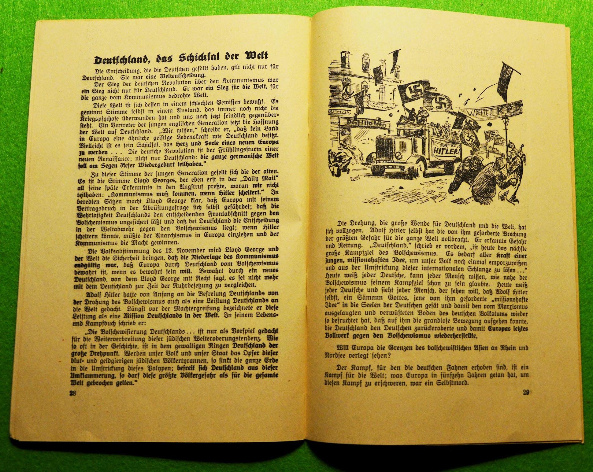 Gesamtverband deutscher antikommunistischer Vereinigungen e.V. - Ein Kampf um Deutschland - 1933