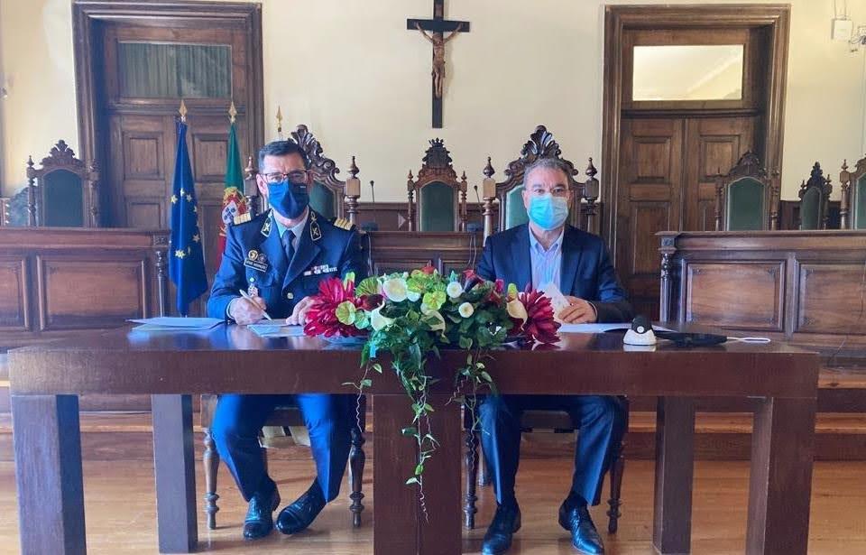 Câmara Municipal de Lamego e GNR assinam protocolo de cooperação