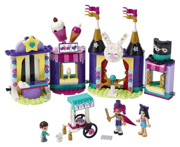 Contenido de LEGO® 41687 Mundo de Magia: Puestos de Feria