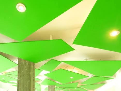 trang trí trần nhà