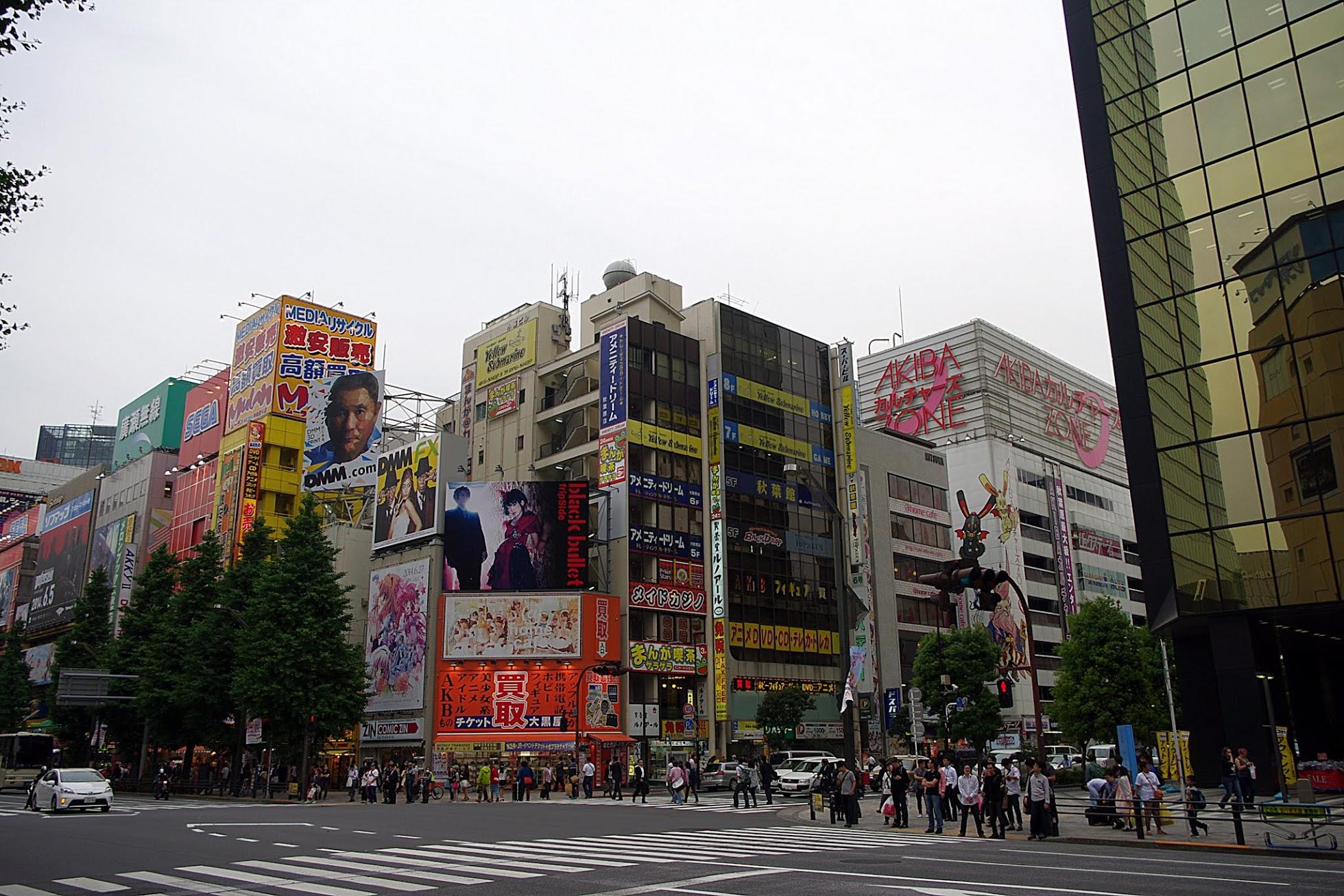 Qué ver en Tokio. Akihabara