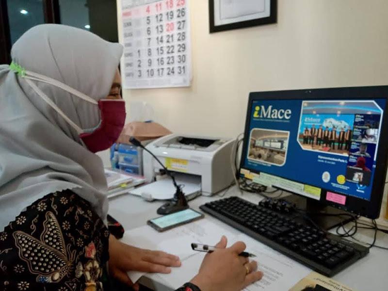 PPKM, Sosialisasi I-Mace ke Pemda DIY dilaksanakan secara daring