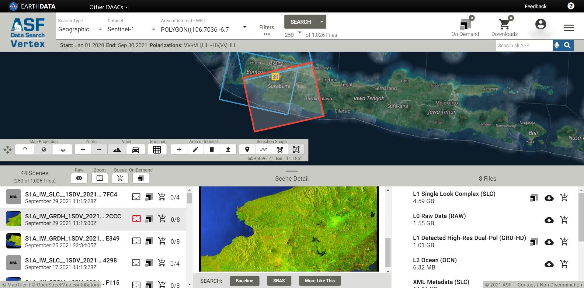 Di Mendownload Memperolah Data Radar ?