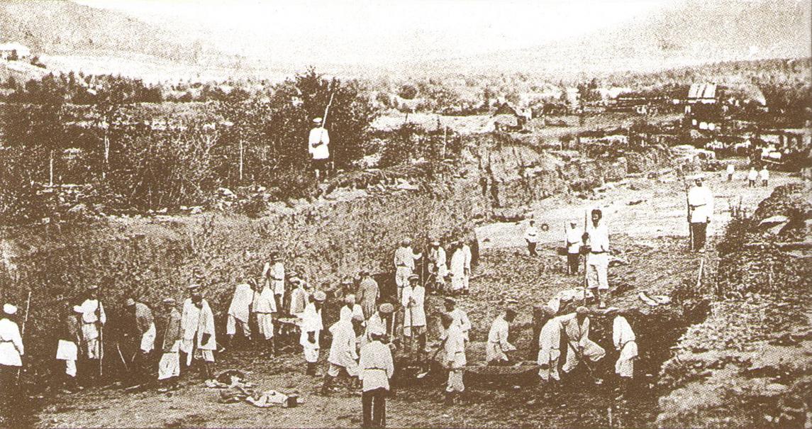 Ссыльнокаторжане на Нерчинских горных заводах