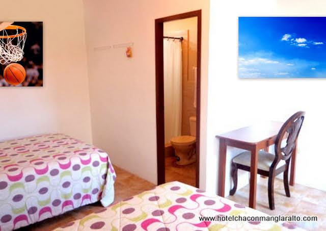 Habitaciones Triples Hotel Chacon Manglaralto