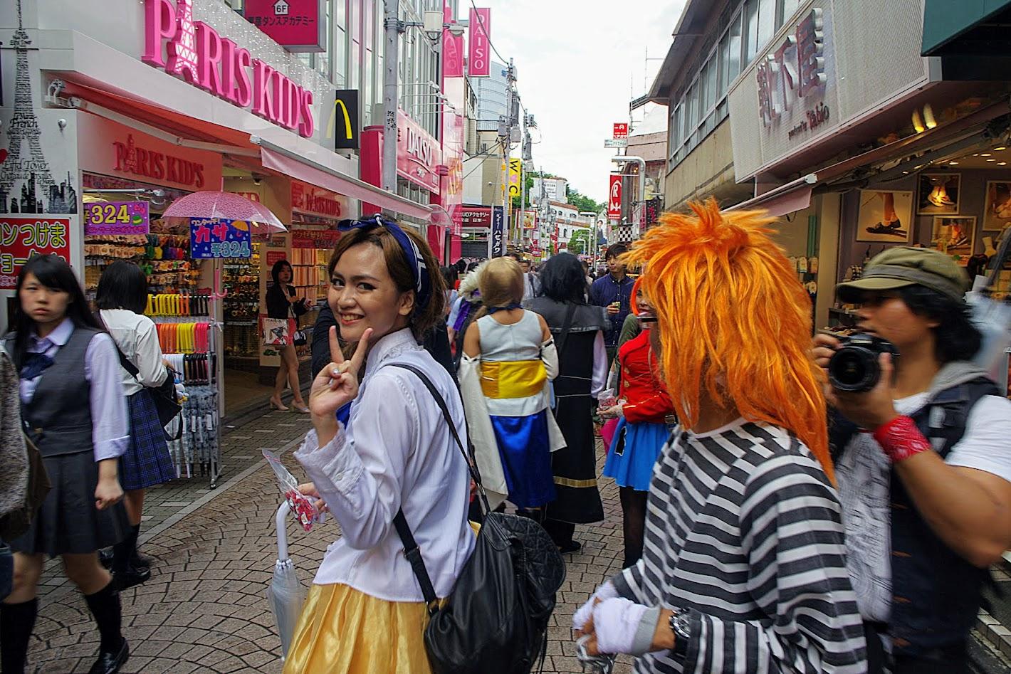 Qué ver en Tokio. Calle Takeshita Doori