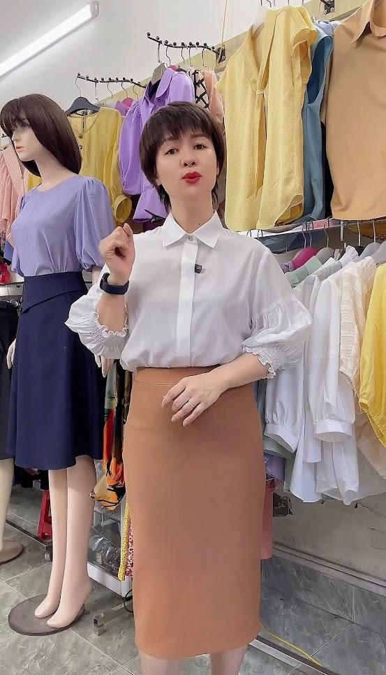 cách chọn vải may áo sơ mi nữ thời trang thủy hà nội