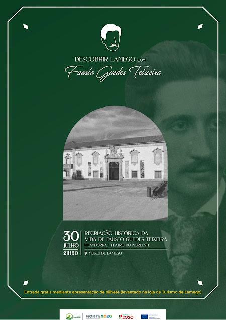 Município de Lamego apresenta recriação da vida e obra de Fausto Guedes Teixeira