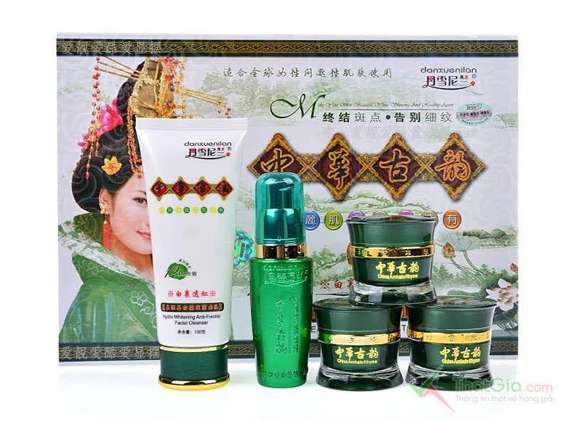 mỹ phẩm Hoàng Cung xanh