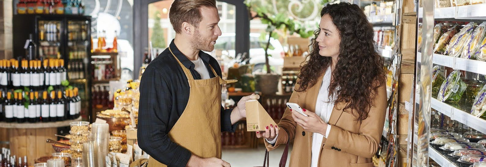 RFID provides solutions for omnichannel grocery to achieve a frictionless grocery experience