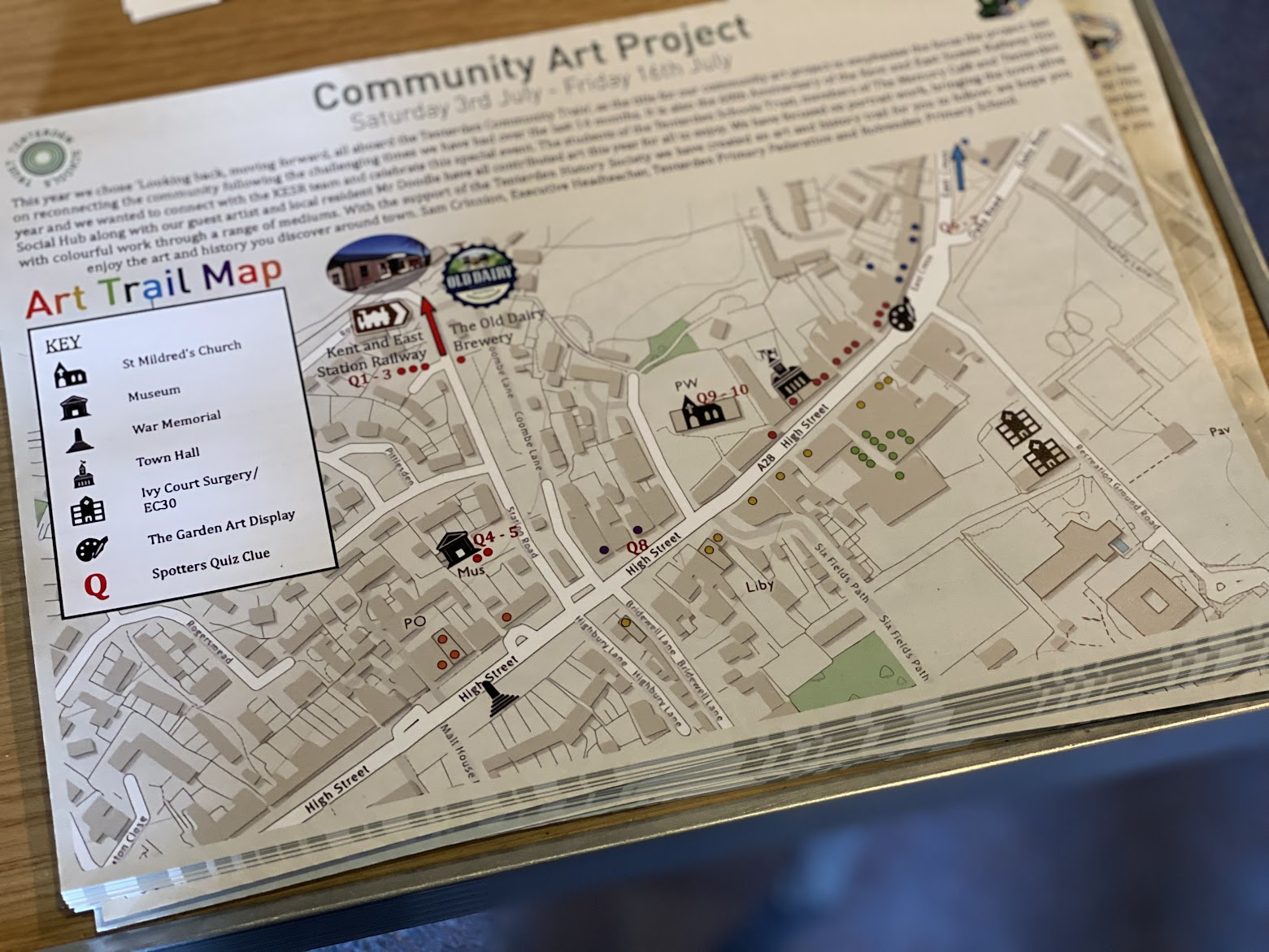 Tenterden Schools Trust Community Art Project 2021 - Art Trail
