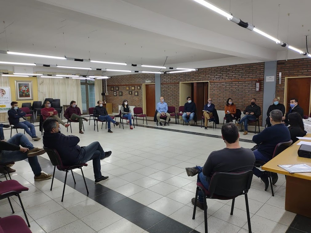 EL INTENDENTE BOTTASSO EN LA REUNIÓN DE LA COMUNIDAD REGIONAL