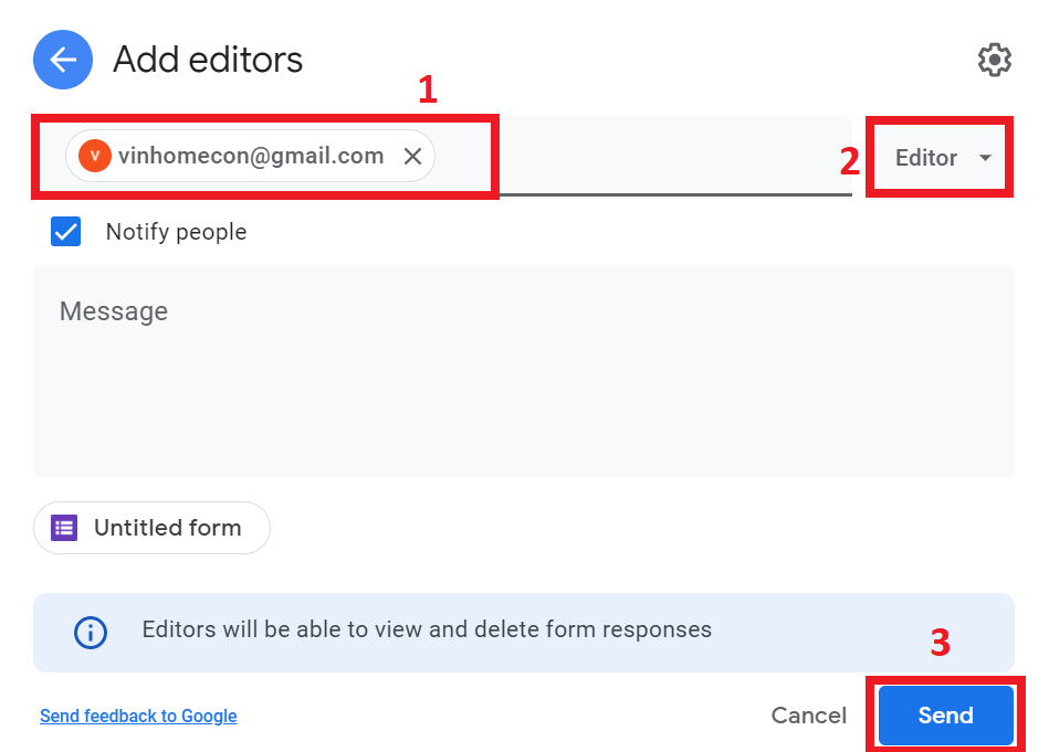 hướng dẫn tạo biểu mẫu google