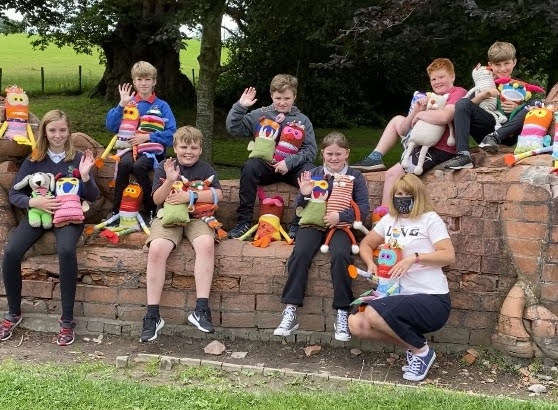 Knitting natterers come to the rescue of children