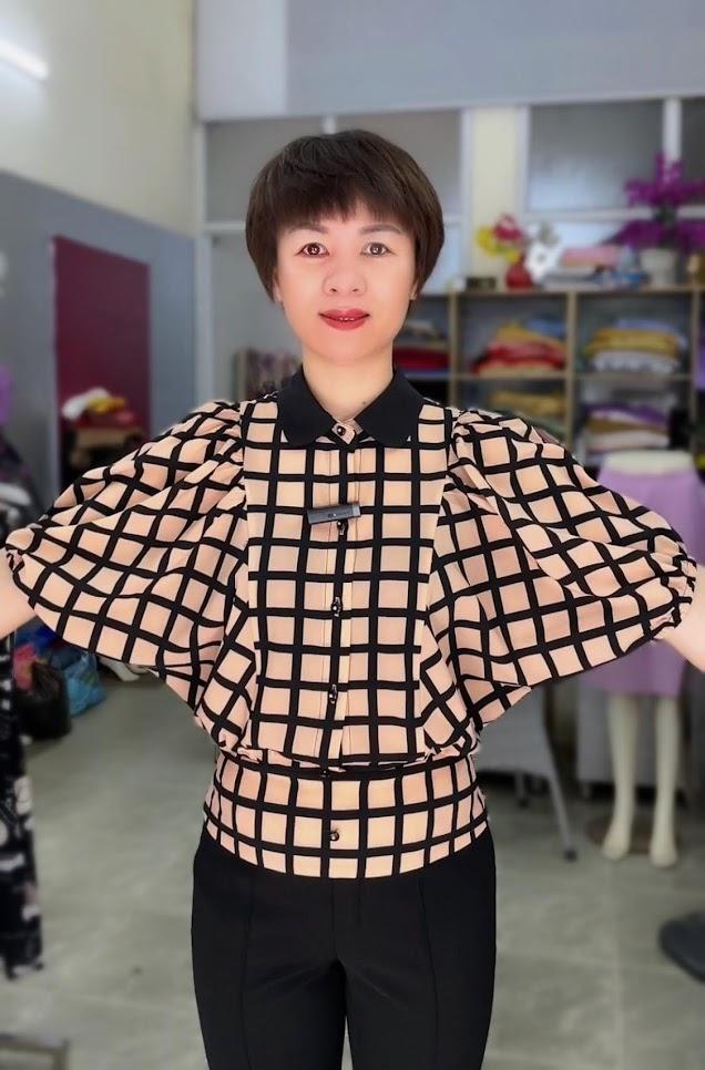 áo sơ mi nữ công sở phối đồ mặc đẹp thời trang thủy kiến an