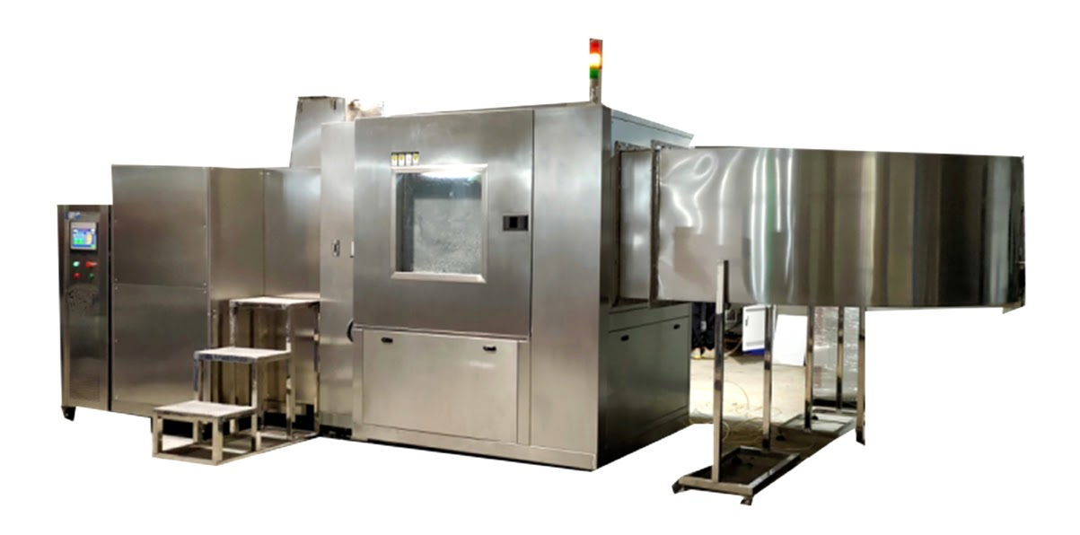 MIL STD 810H Test Method 510.7 – Sand and Dust Test Equipment SUS 304 Appearance Structure