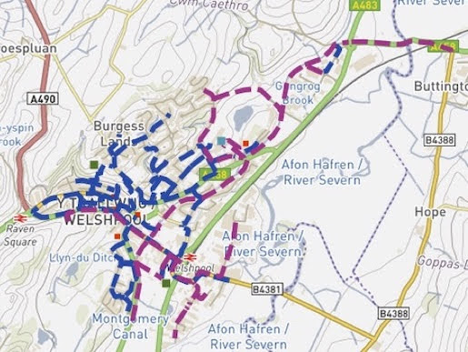 Plans to make Welshpool more cycling and walker-friendly