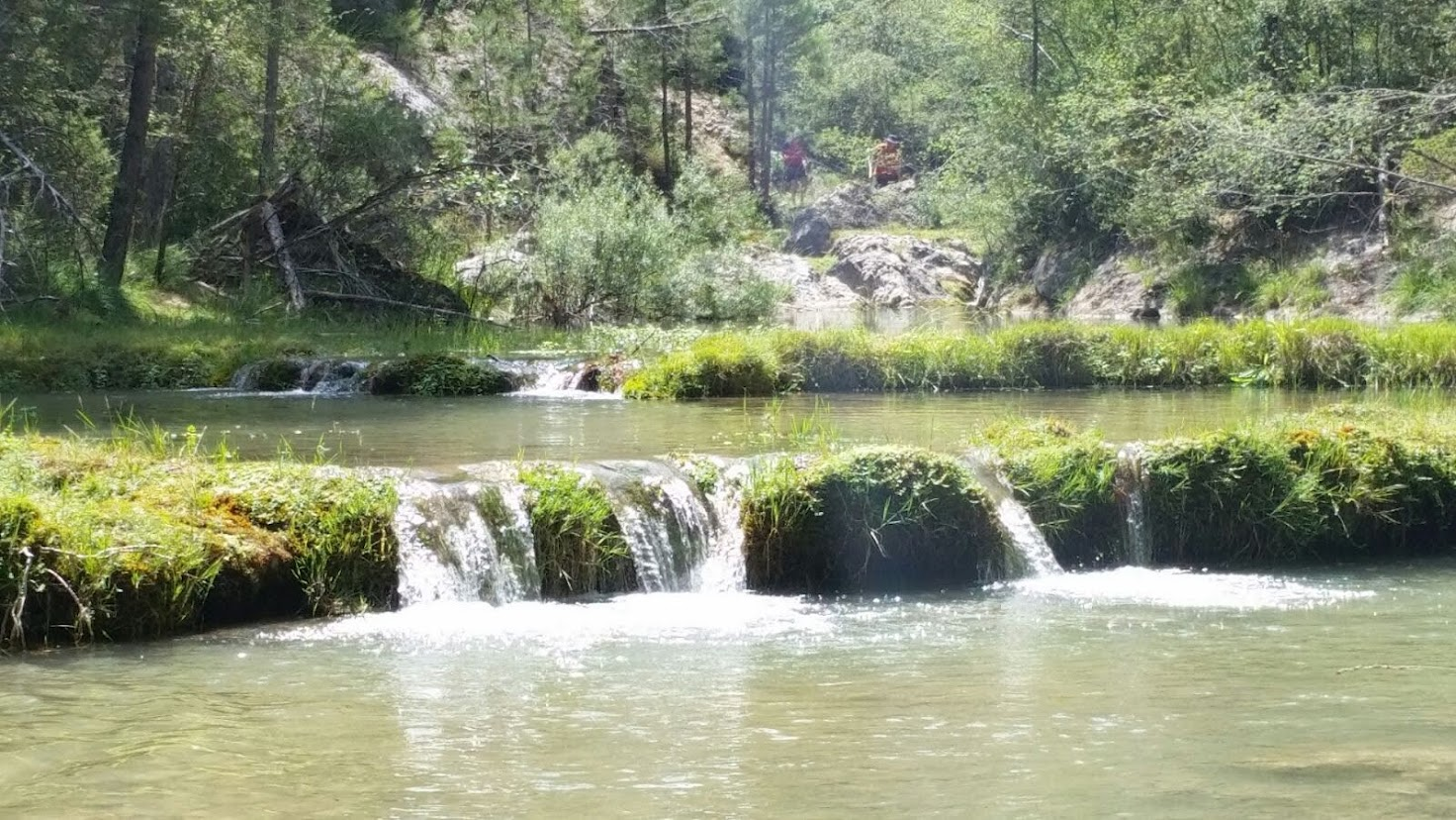 Rio Escabas en Lagunillos - Hosquillo