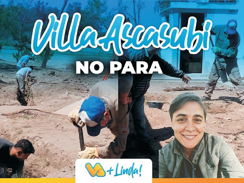 VILLA ASCASUBI: HABLAMOS CON LUCHA BENITEZ