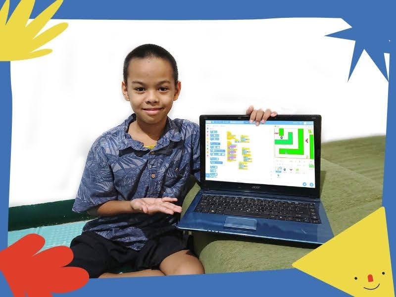 Belajar coding di educourse yang menyenangkan dan langsung praktek bikin game