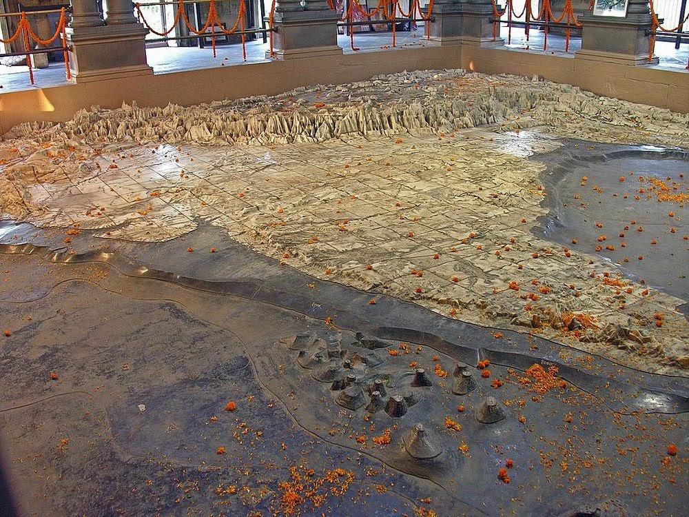 Templo Bharat Mata, um santuário dedicado à Mãe Índia