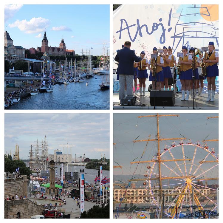 Viele Attraktionen erwarten die Gäste vom 30.07. bis 01.08.2021 in Szczecin. Fotocollage: Andras Schwarze (asc)