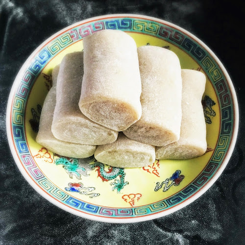 chinese,香蕉糕,banana mochi,香蕉卷,hong kong,recipe,banana roll,