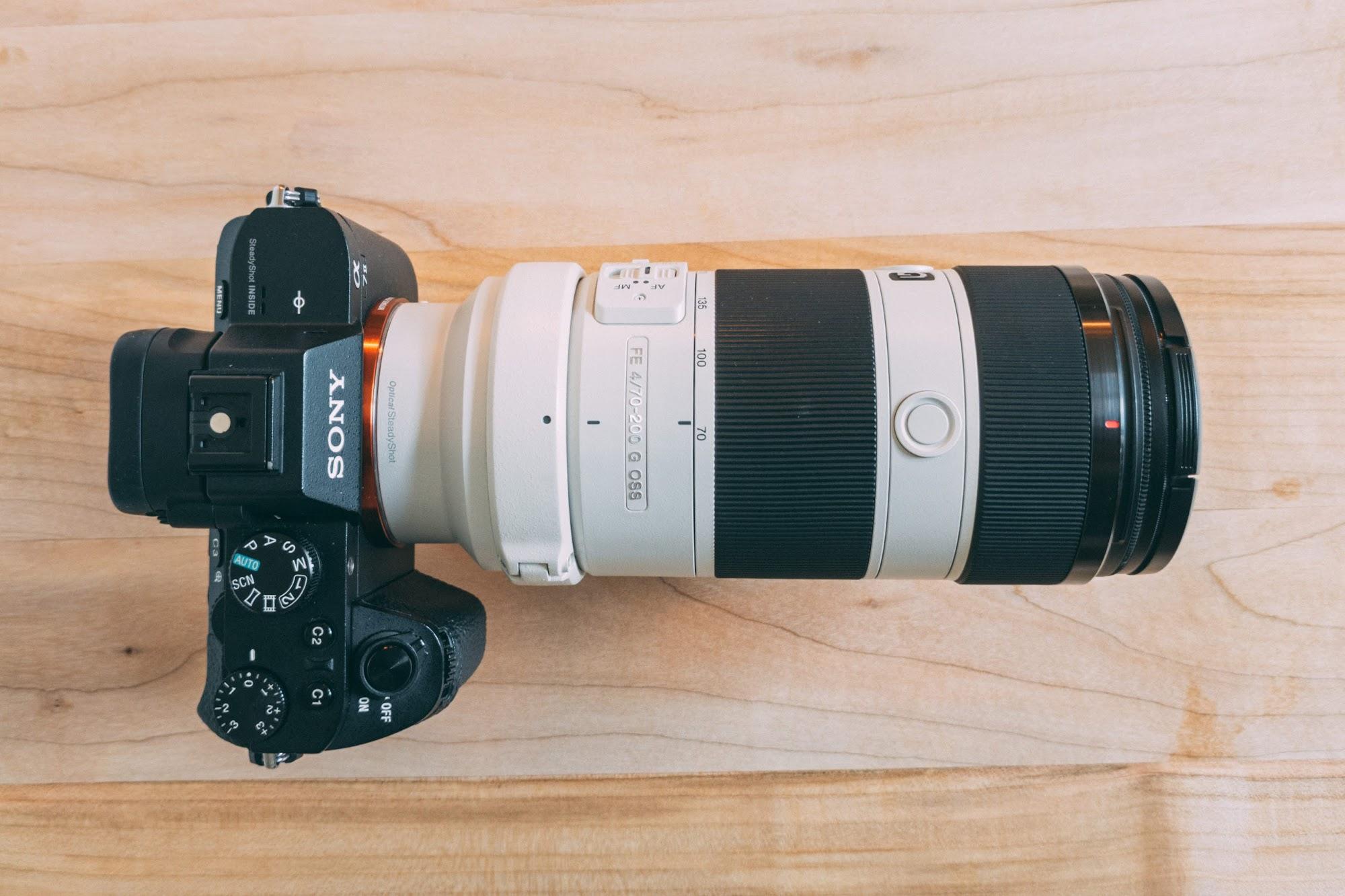 Sony FE 70-200mm, f/4 G OSS