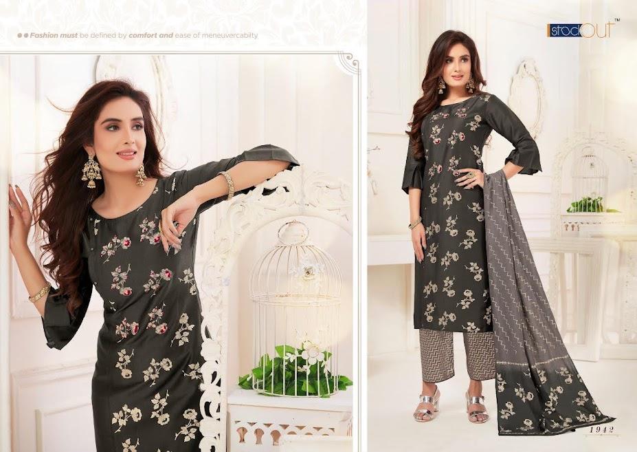 Buy Af Zoya Exclusive Collection Readymade Palazzo Ladies Su