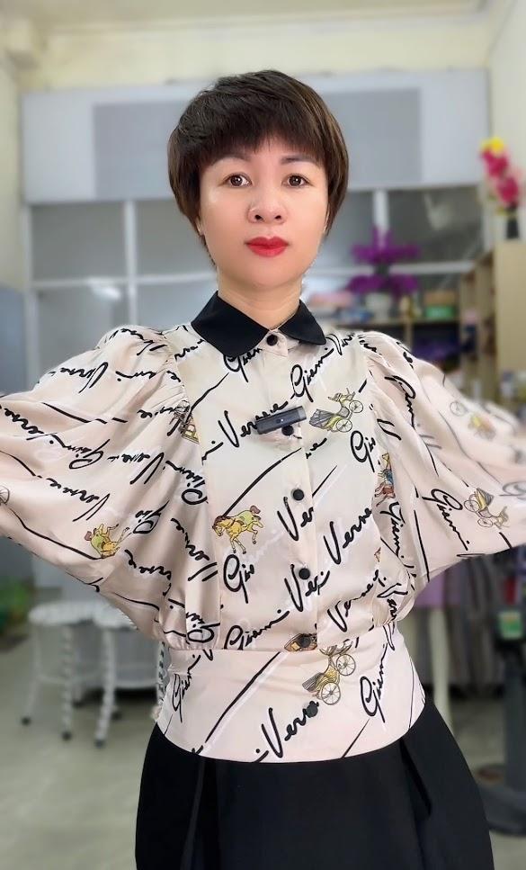áo sơ mi nữ công sở phối đồ mặc đẹp thời trang cát bà