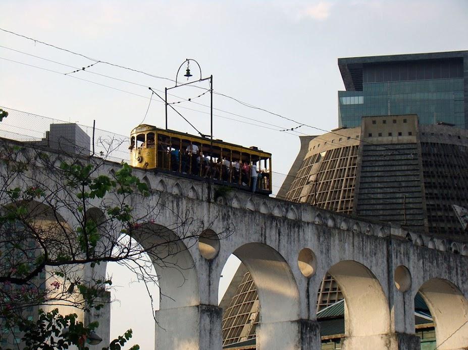 Aqueduto da Carioca, os Arcos da Lapa
