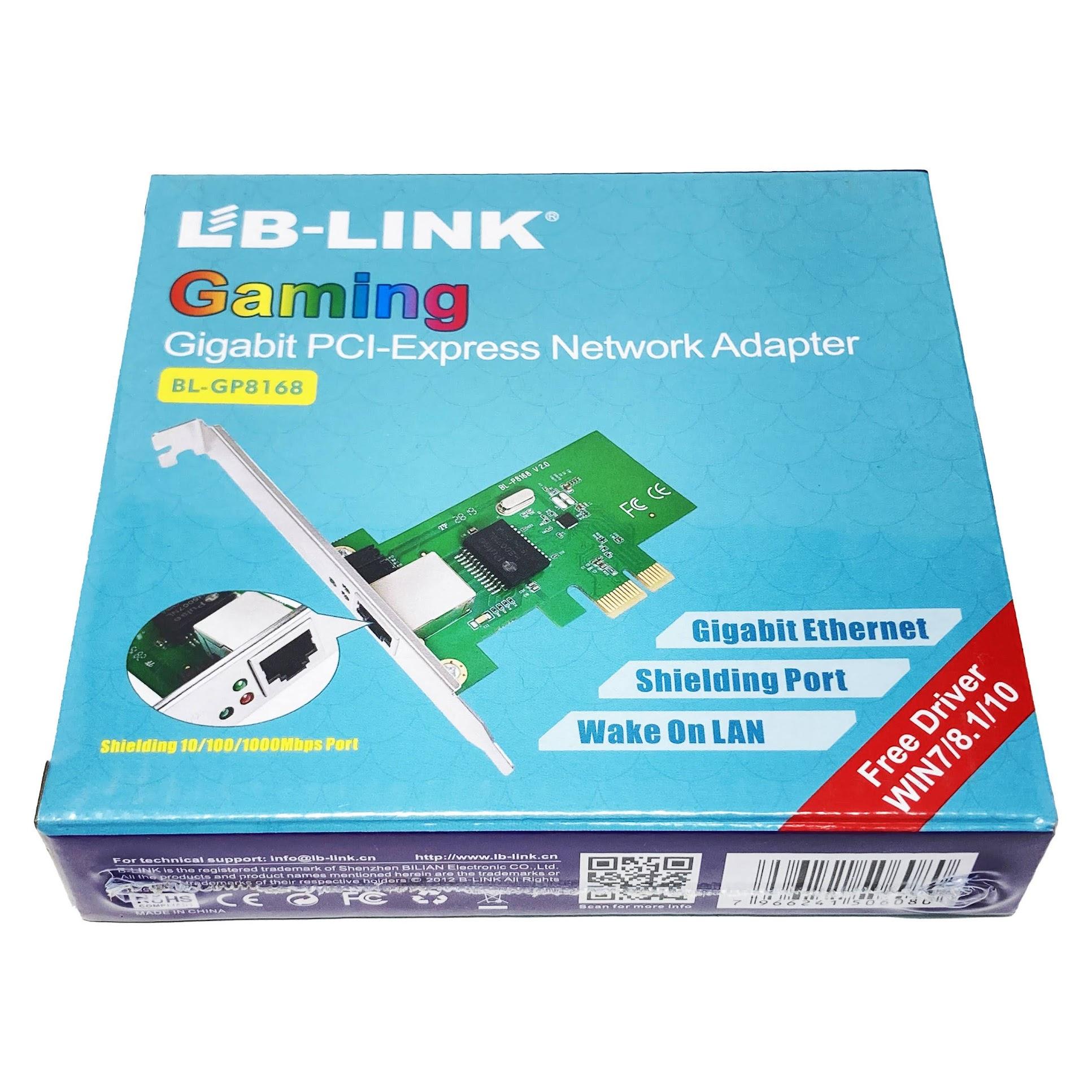 LB-Link BL-GP8168 Internal Ethernet box front