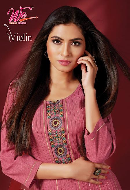 Buy Women Ethnics Violin Latest Straight Cut Kurtas Catalog