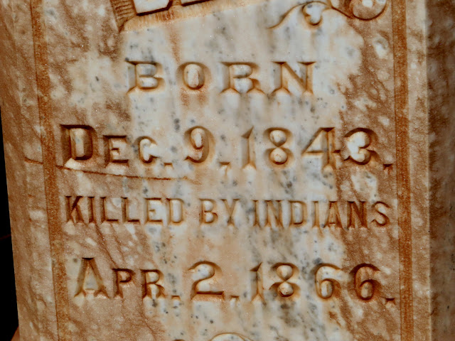 Killed by Indians