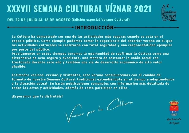 37 Semana Cultural