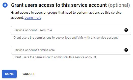 Google APIs Credentials 5