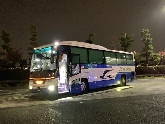 ドリーム青森/盛岡・東京号に乗ってきました(東京発盛岡経由青森行夜行バス)